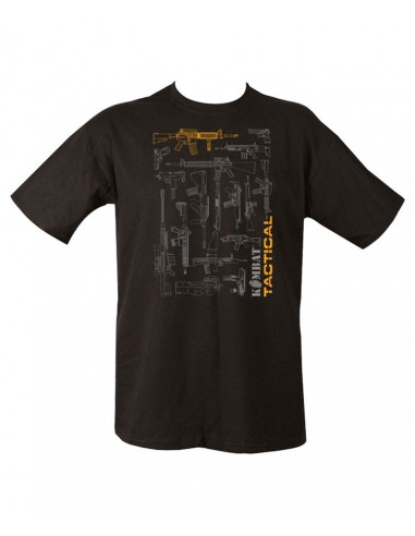 T-shirt Tactical Gun