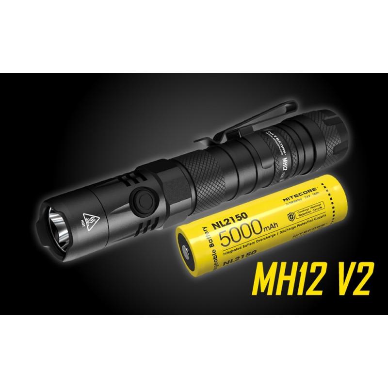 LAMPE MH12 V2 1200 Lumens
