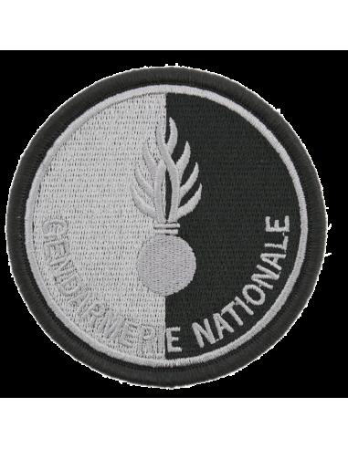 Ecusson tissu Gendarmerie Nationale NOIR