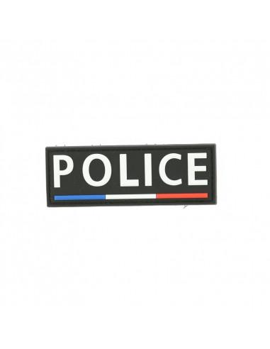 BANDE PVC POITIRNE POLICE LISERE BBR