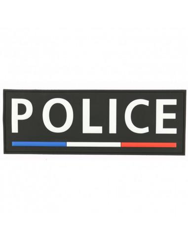 BANDE PVC DOS POLICE LISERE BBR