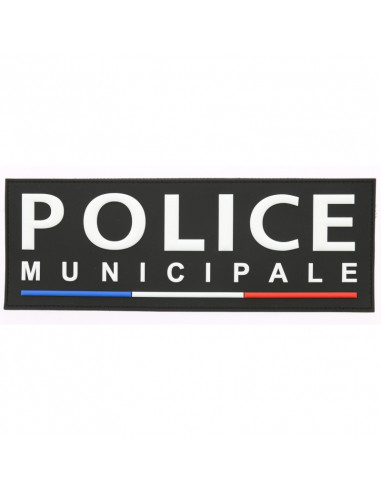 BANDE PVC DOS POLICE MUNICIPALE...